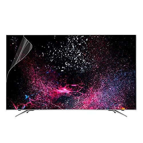 ALGWXQ Protector de Pantalla Anti Luz Azul para TV 32-75 Pulgadas para Televisores LCD, LED Y Plasma Protección para Los Ojos Apto (Color : Matte Version, Size : 55 Inch 1211 * 682mm)