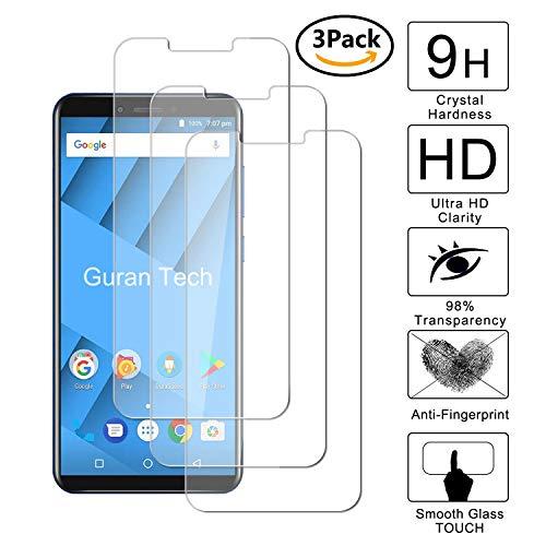 Guran [3 Pezzi] Pellicola Protettiva per Vernee M6 Smartphone Ultra Sottile Screen Protector in Vetro Temperato Film Ultra Resistente