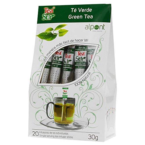 Alpont Tea Stir Té Verde, 20 Sobres