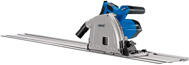 Draper 57341 165mm Plunge Saw with Rail (1200W)