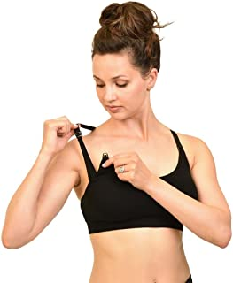 bamboobies yoga nursing bra