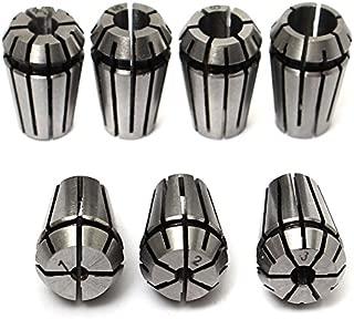 7Pcs ER11 Spring Collet Set For CNC Workholding Engraving Milling Lathe Tool 1-7mm Excellent Quality