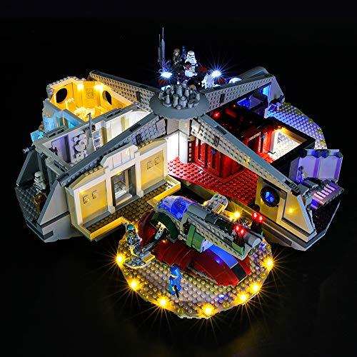 BRIKSMAX Led Beleuchtungsset für Lego Star Wars Cloud City,Kompatibel Mit Lego 75222 Bausteinen Modell - Ohne Lego Set