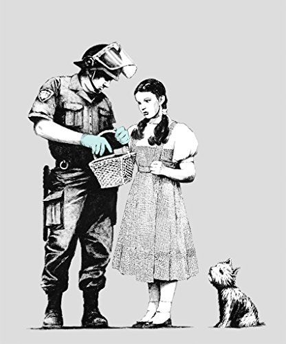 Banksy Plakat Poster, Banksy Dorothy Police Street Artist Poster