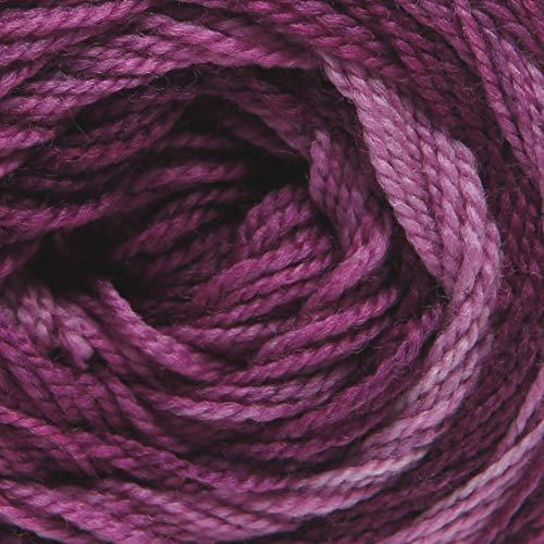 ggh Merinella - 004 - Berenjena Dégradé - Lana merina con gradiente de color para tejer y hacer ganchillo
