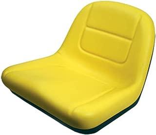 AI Products Deluxe High Back Seat for John Deere Riding Mower Lawn Tractor Models G110, L100, L105, L107, L110, L118, L120, L130, 135, 145
