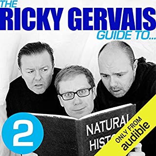 The Ricky Gervais Guide to... NATURAL HISTORY  cover art