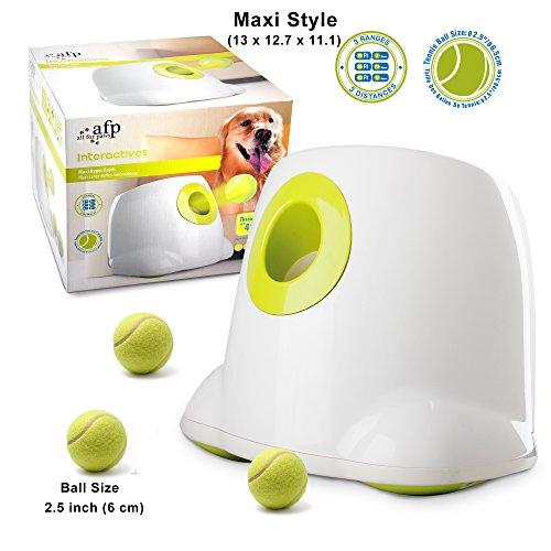 AFP Automatic Ball Launcher Dog Ball Thrower Machine Hyper Fetch Tennis Ball (Maxi) (Maxi-New)
