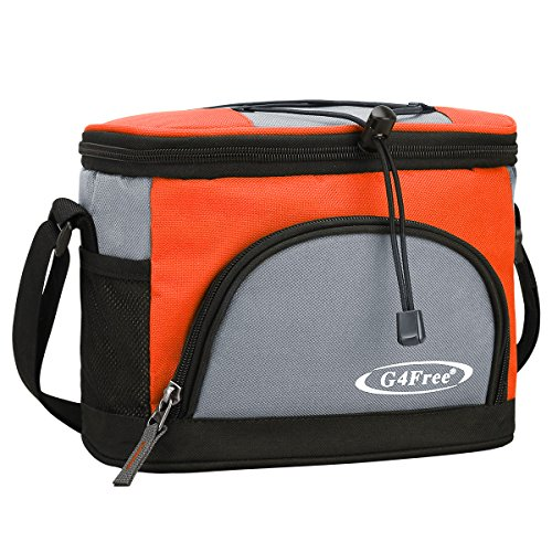 G4Free 5L Kühltasche Picknicktasche Lunch Tasche Mittagessen Tasche Thermotasche Kühltasche Isoliertasche für Arbeit Schule Picknick Radfahren Einkaufen Unterwegs Lebensmitteltransport