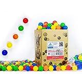 koenig-tom 200 BLLE (Tv geprft und Zertifiziert 2019) BABYBLLE BLLE Ball BLLCHENBAD PLASTIKBLLE NEU ohne gefhrliche Weichmacher