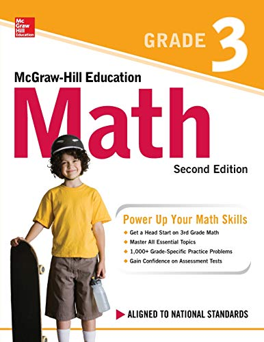Compare Textbook Prices for McGraw-Hill Education Math Grade 3, Second Edition 2 Edition ISBN 9781260019780 by McGraw Hill