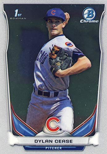 2014 Bowman CHROME Draft Picks & Prospects - Dylan Cease - Baseball Rookie RC - 1st Bowman Chrome Card #CDP79