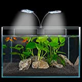 15w 32 Led Aquarium Planted Clip Lamp Fish Tank Led Clip Light Aquatic Lamp Led Aquarium Lighting Energy Saving Lamp