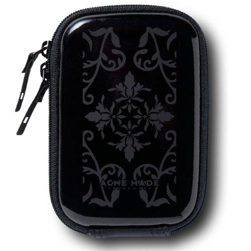 Acme Made Sleek Hülle Kameratasche schwarz glänzend/antik