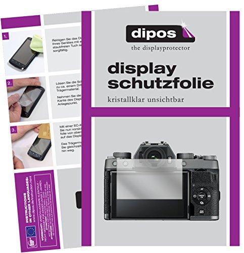 dipos I 6X Pellicola Protettiva Compatibile con Fujifilm X-T100 Pellicola di Protezione Cristallo
