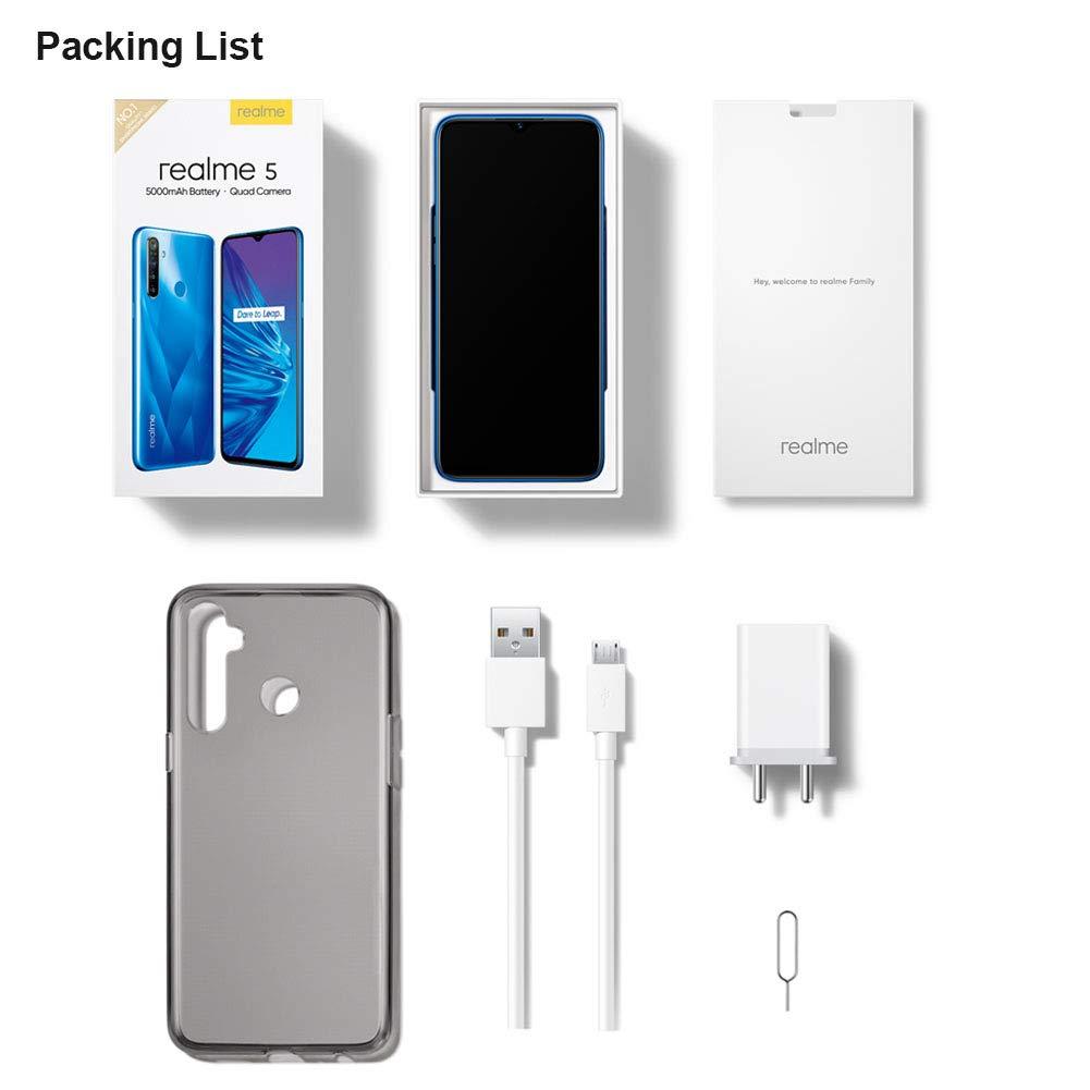 realme 5 Smartphone Móvil, 4 GB RAM 128 GB ROM 6.5
