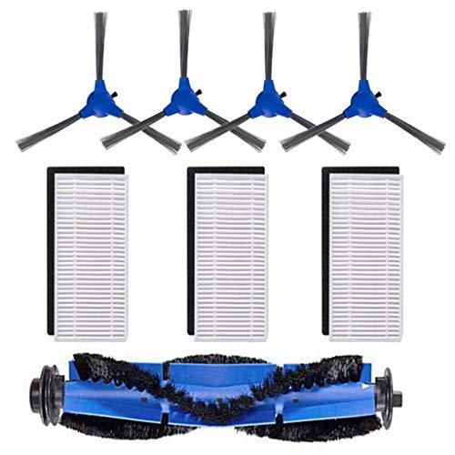 UJUNAOR Sweeping Roboter Zubehör Vakuum-Reinigungsroboter Zubehör Ersatzteil-Kit für RoboVac 11S Für RoboVac 30 Für RoboVac 30C Für RoboVac 15C(A,One size)