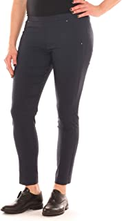 c77bd372b3aa0b Emanuela Costa Pantalone Skinny Donna Tessuto Tecnico Super Stretch Taglia  Morbida