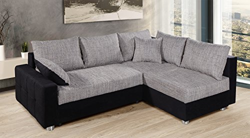 Ecksofa Couch –  günstig Collection AB Piacenza  Stoff Bild 6*