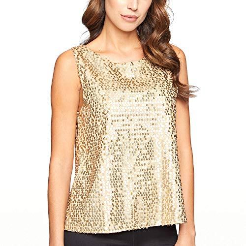 YAMAMAY® Top Donna con Paillettes - Party