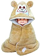 Go For This Special Baby Blankets Which Are Easy to Wrap And Hold Baby Because Welcrow Is Attached Material: Super Soft Flannel; Color: Beige ; Usage : Sleeping bag , safety bag , baby wrapper Product Dimension: 66 cm x 68.58 cm ; For: Unisex-Baby; A...