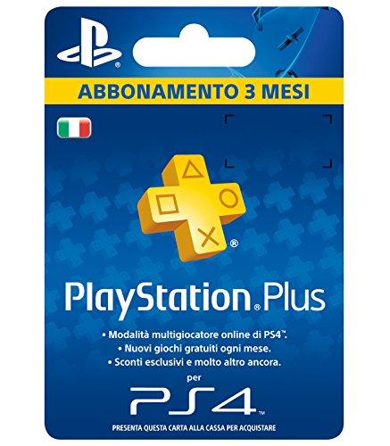 PlayStation Plus Card Hang Abbonamento 3 Mesi