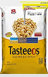 Ralston Foods Tasteeos Cereal, 28 Ounce -- 4 per case.