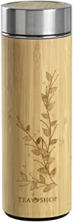 TEA SHOP - Termo con Filtro - Travel Tea Bamboo Leaves - 350 ml - Otros complementos