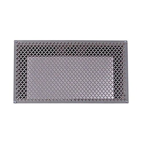 """Tjernlund 950-8303 UnderAire Steel Crawl Space Vent, Morning Star Pattern, 18"""" x 10"""" Screen (Vent Screen Only)"""