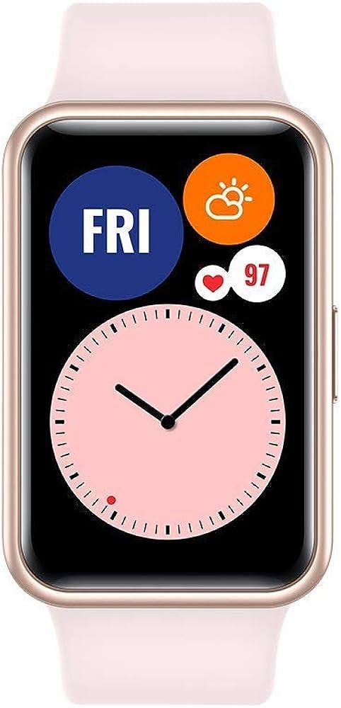 Huawei smartwatch donna, display amoled 96 modalità di allenamento, gps integrato Stia-B09