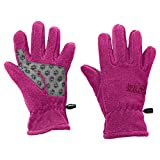 Jack Wolfskin Herren Fleece Gloves Handschuhe, Fuchsia, 128