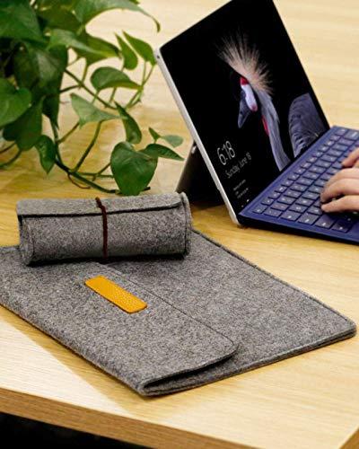 Inateck Laptoptasche Hülle Kompatibel mit 13 Zoll MacBook Air 2020 M1-2018, 13 Zoll MacBook Pro 2020 M1-2016, Surface Pro X/7/6/5/4/3/, 12.9 iPad Pro, XPS13, Laptophülle Laptop Sleeve Case