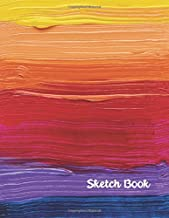 Sketch Book: 8.5 x 11 Large, Paint, Write, Practice Drawing, Doodle, 8.5 x 11 Large Blank Pages: Notes, Sketching Pad , Creative Diary And Journal ( Beautiful Color Cover )