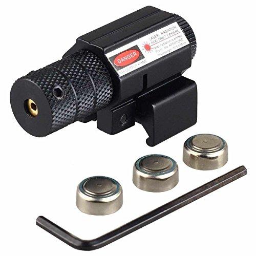 Shooney#039s Tactical Red Beam Dot Laser Sight Picatinny Weaver Rail Mount Pistol Handgun Airsoft Sight