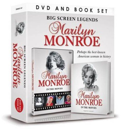 Big Screen Legends: Marilyn Monroe (Demand Media Book and DVD Gift Sets)