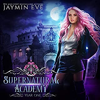 Supernatural Academy audiobook cover art