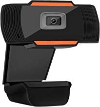 YoLuke Web Camera 720P PC Camera USB HD Webcam Video Record with Microphone for Laptop Skype MSN…