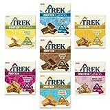 Trek Protein Flapjack - Selección de casos mixtos, sin gluten, sin lácteos (paquete de 21 barras)