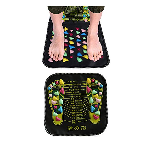 Purchase N \ A Foot Massage Stone Mat, Reflexology Massage Mat, Health Care Acupressure Pad, Acupoint Massageador Relaxing Muscle Pressure and Foot Leg Pain,68.89in13.8in