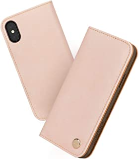 Moshi Overture Vegan Leather Wallet Case for iPhone Xs/iPhone X - Pink