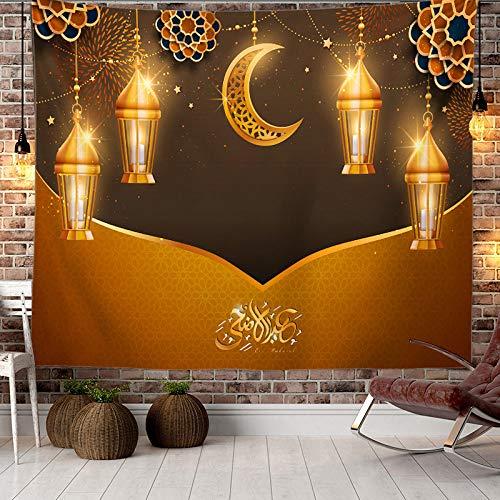 Tapiz De Ramadán Para Colgar En La Pared,Tapiz De Pared Árabe Islámico Iftar,Decoración Del Hogar Para La Sala De Estar Del Dormitorio