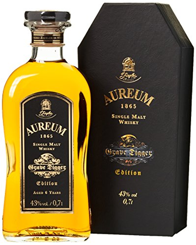 Aureum 1865 Grave Digger Single Malt Whisky (1 x 0.7 l)
