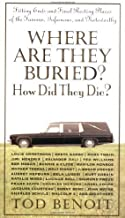 Where Are They Buried? How Did They Die? Fitting Ends and Final Resting Places o