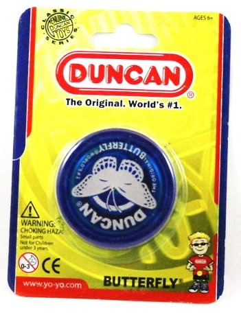 Flames 'N Games Duncan YoYo Butterfly - Classic string YoYo's - Blu