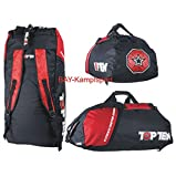TOP TEN® Rucksack Sporttasche ' UFA ' 75 x 35 cm MMA ULTIMATE FIGHTING ARSENAL Kickboxen Karate...