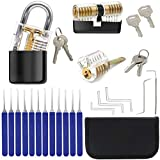 Professional Practice Tool Lockset, Set with 3 Locks 17 pcs Tools