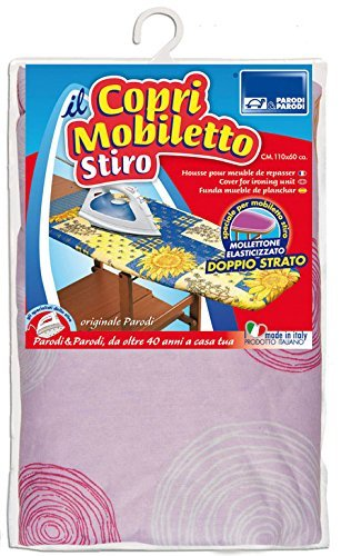 Parodi & Parodi Stiro Copriasse Copri Mobiletto, Cotone, Multicolore, 23 x 30 x 4 cm