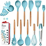 Kitchen Utensils Set - 20 Silicone Cooking Utensils for Non-stick...