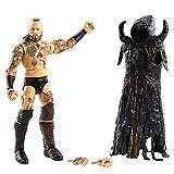 WWE Élite Figura Aleister Black, muñeco articulado de juguete con accesorios (Mattel GVB64)