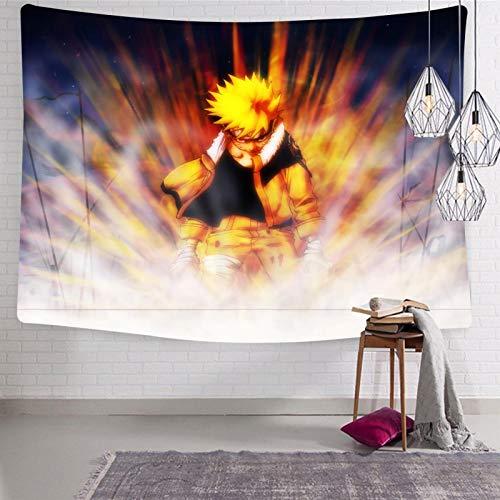 3354 Na-ru-to Power Tapiz para colgar en la pared, suave y divertido, tapices para dormitorio de 188 x 222,5 cm